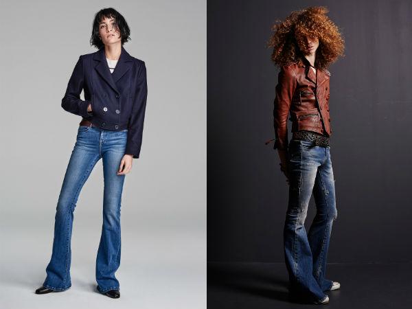 Flare jeans para vestem em 2017