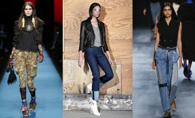 Jeans da moda outono-inverno 2016-2017