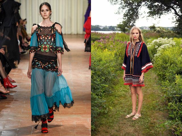 Vestidos 2017 estilo ethno