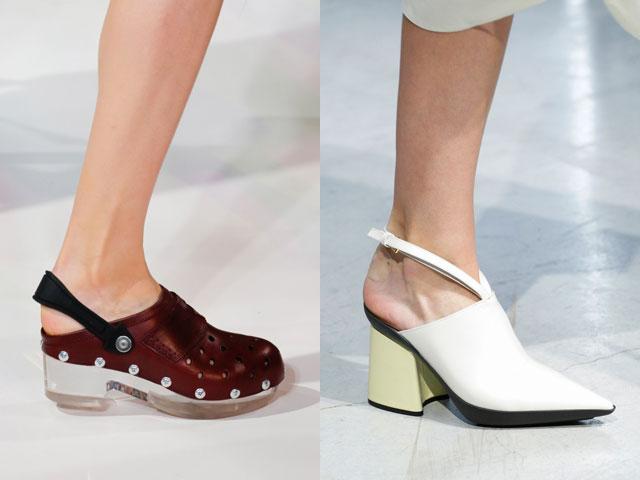 Zapatos de moda de verano 2017