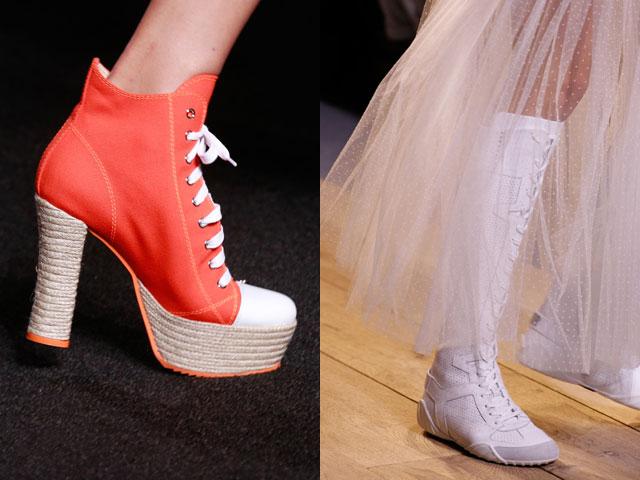 Le donne della caviglia stile stivali sport