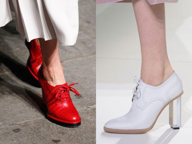 Mujeres zapatos atados 2017 verano primavera