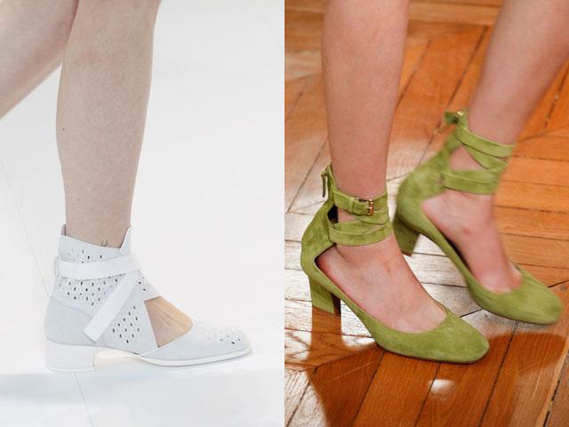 Zapatos casuales con tacón pequeño