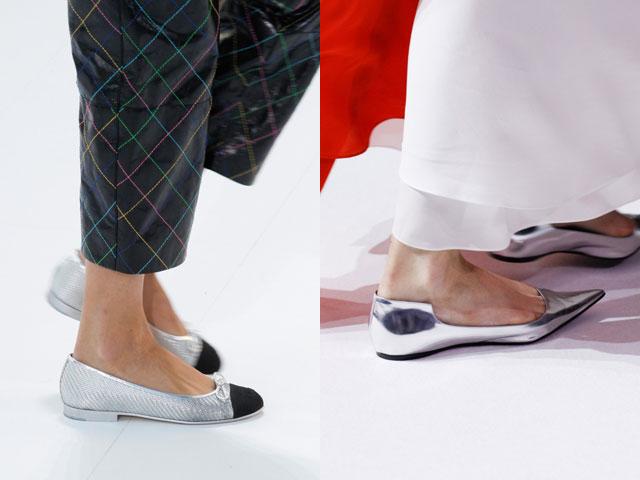 Primavera verano 2017 zapatos planos de piso