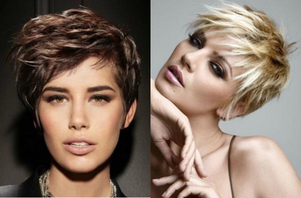 Cortes de pelo texturizados para el pelo corto