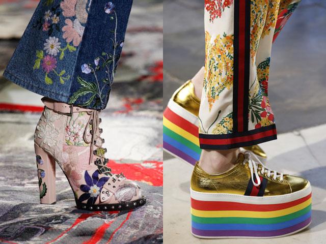 Moda lace up stivali 2017