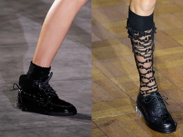 calzature in pelle