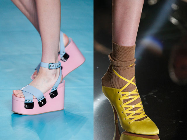 tendenze colore calzature