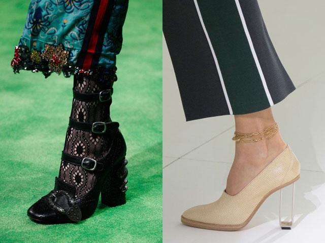 Tendenze calzature 2017