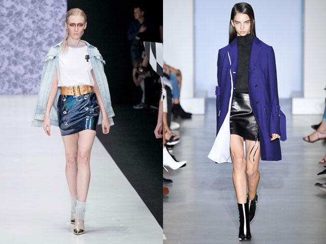 Mini saias moda 2017