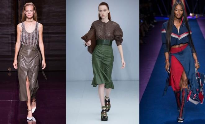 Faldas de moda primavera-verano 2017