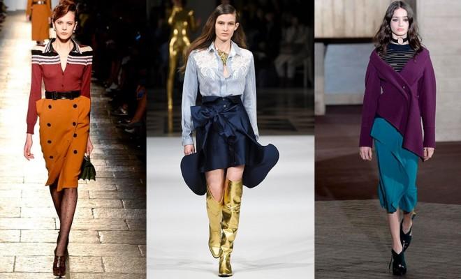 Faldas de moda otoño-invierno 2017-2018