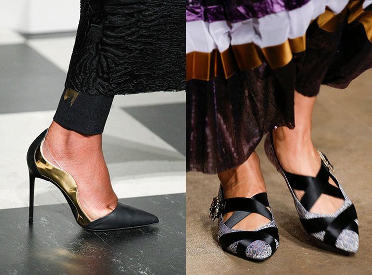 Design de sapatos femininos 2018