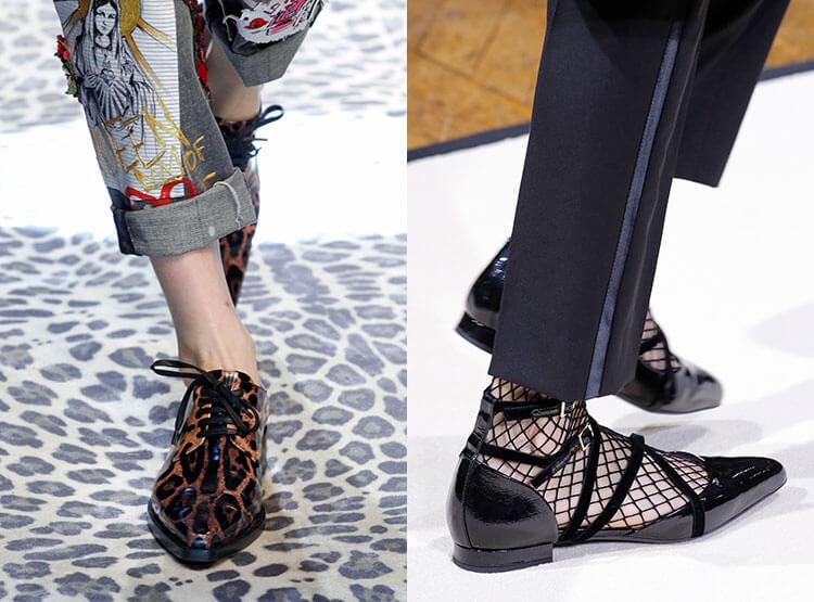 Scarpe in pelle per donna