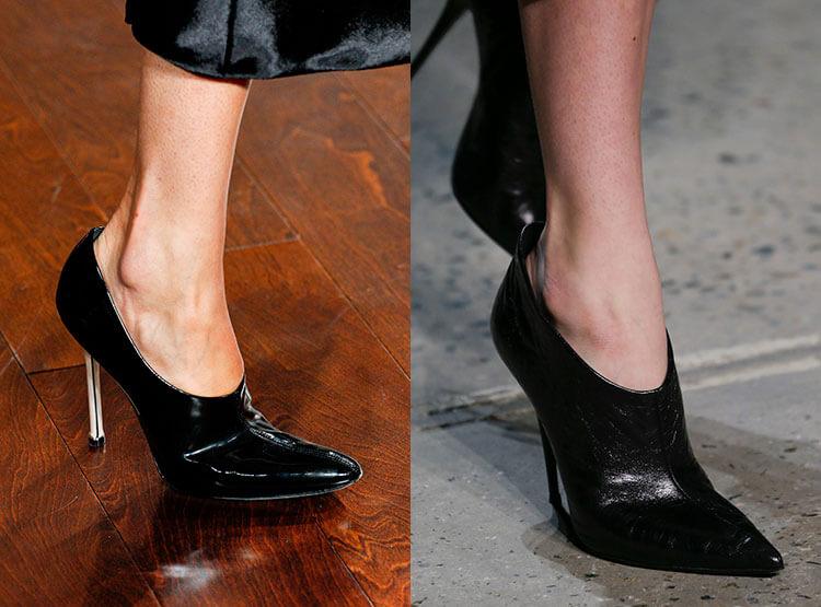 preto com calcanhar confortável
