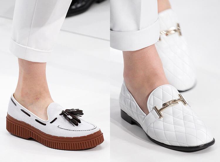 Sapatos de sola plana para mulheres outono inverno 2017 2018