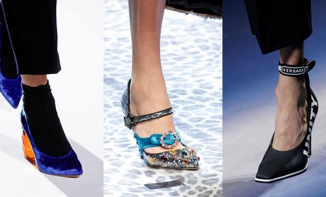 Zapatos de moda otoño-invierno 2017-2018