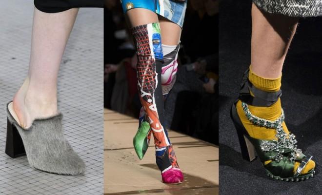 Calzature di moda autunno-inverno 2017-2018