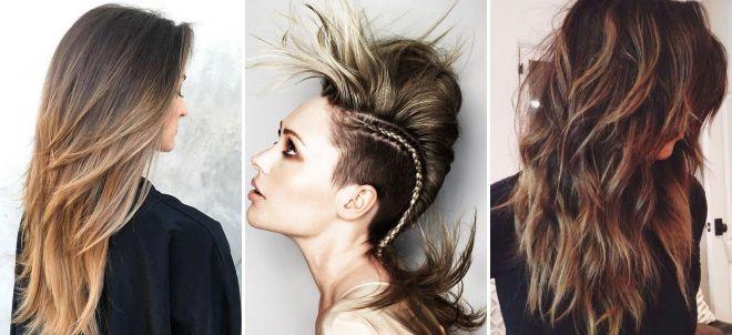 Corte de cabelo longo para mulheres 2018