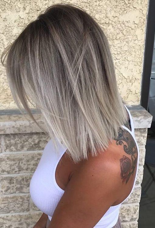 Corte de cabelo das meninas cabelo fino