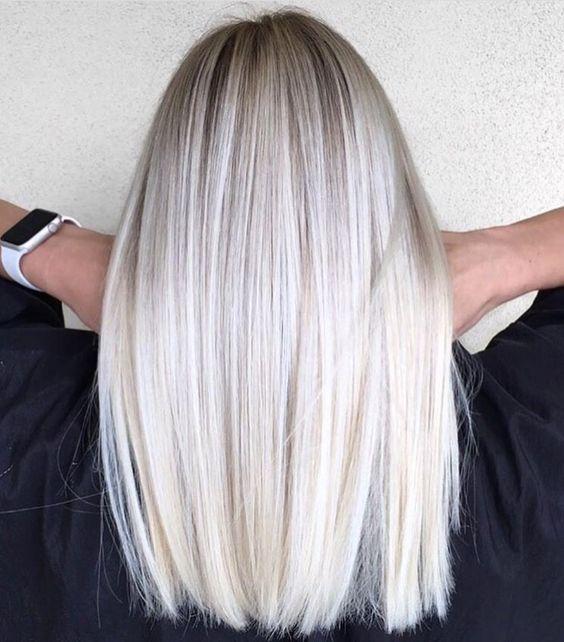 2018 tendências de corte de cabelo para cabelo médio