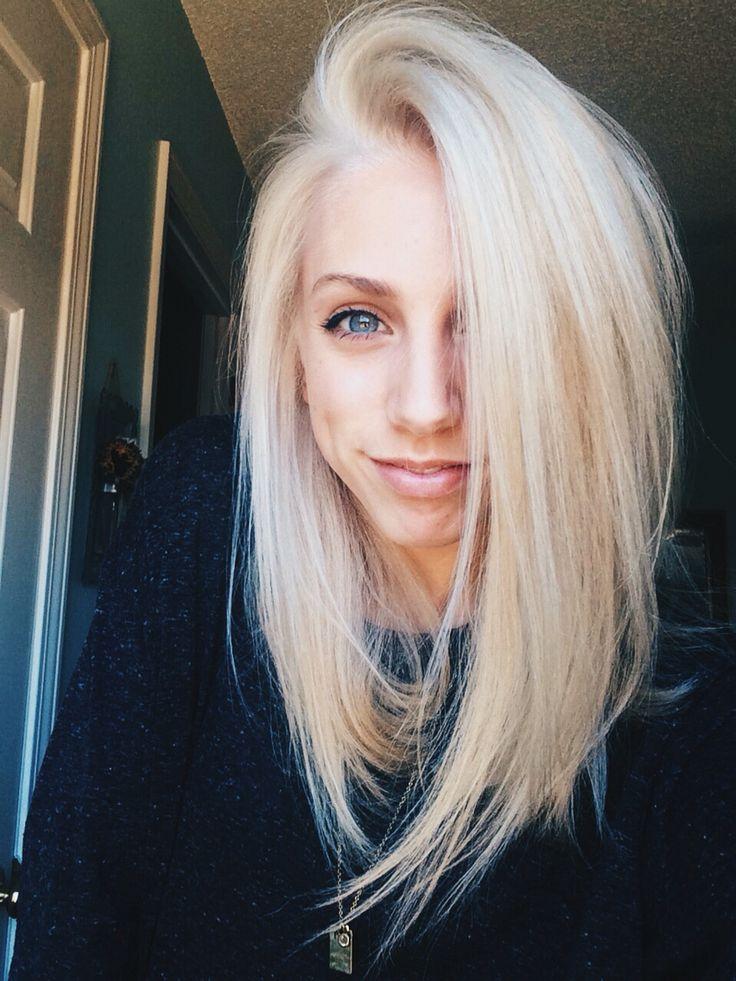 Lob corte de cabelo 2018 loiras