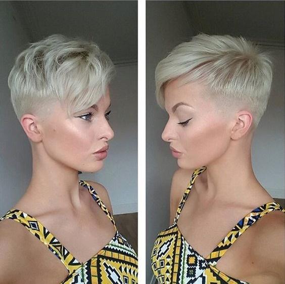 Bonita pixie cortes de cabelo 2018