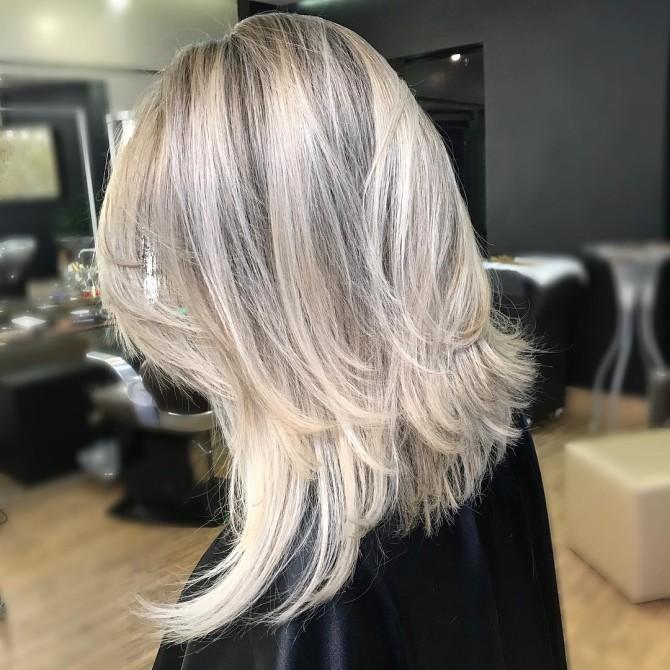 Haircut 2018 cachoeira de comprimento médio cabelo