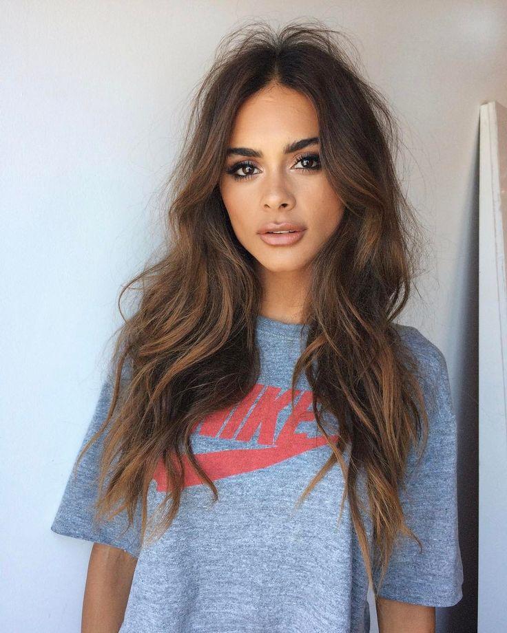 Cortes de cabelo ondulados para cabelos longos
