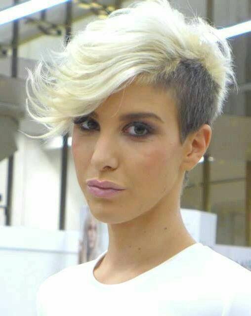 Cortes de cabelo assimétricos para 2018